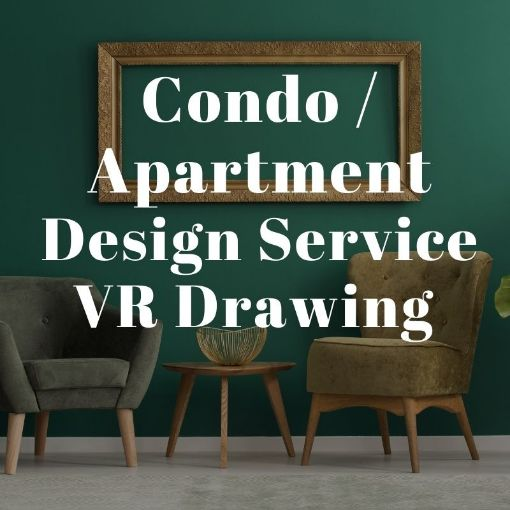 Picture of Less Than 1200Sq Condo / Apartment VR Interior Design Drawing