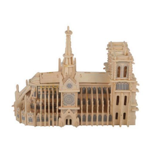 Picture of 3D立体木质拼图 - 巴黎圣母院