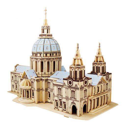 Picture of 3D立体木质拼图 - 圣保罗大教堂