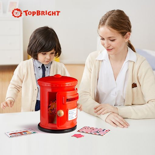 Picture of 特宝儿儿童世界地图拼图地理认知邮箱3-6岁益智早教玩具